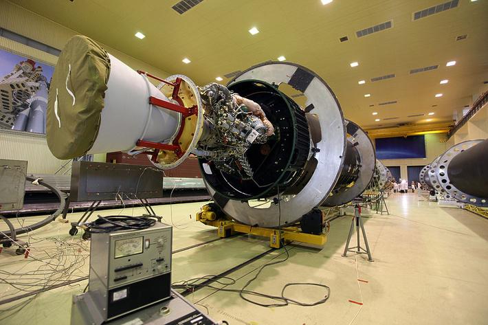 модуль первой/второй ступени РН Ангара