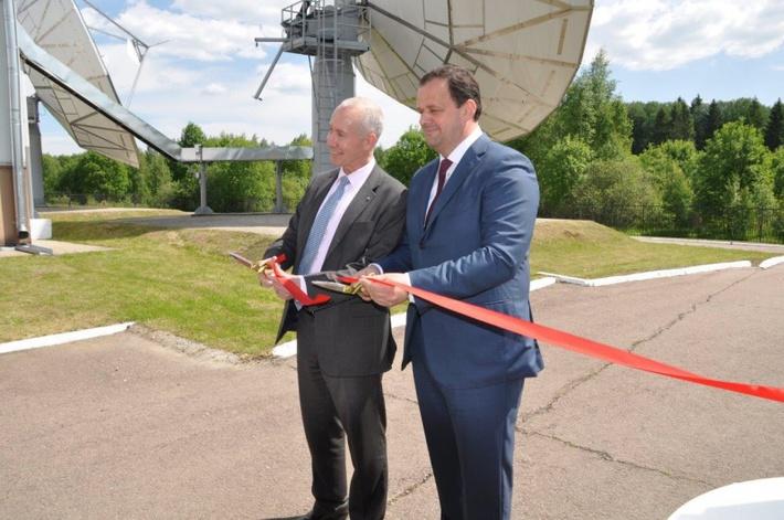 Национальная станция спутниковой связи системы Инмарсат «Марсат-4» сдана в эксплуатацию