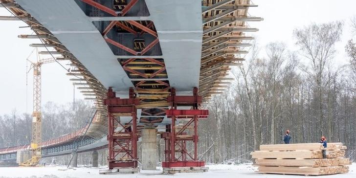 Началось строительство трассы от МКАД до аэропорта Остафьево