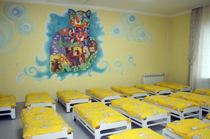 Детский сад спальня картинки смотреть