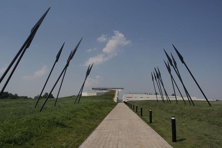 Картинки по запросу Новый музей Куликова поля в Тульской области начал принимать посетителей
