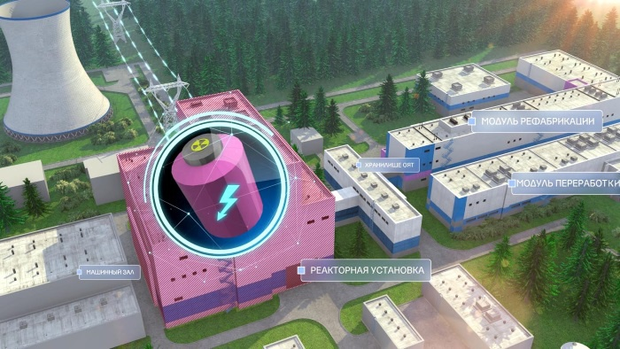 Одобрена новая «дорожная карта» строительства ОДЭК с реактором БРЕСТ-300.