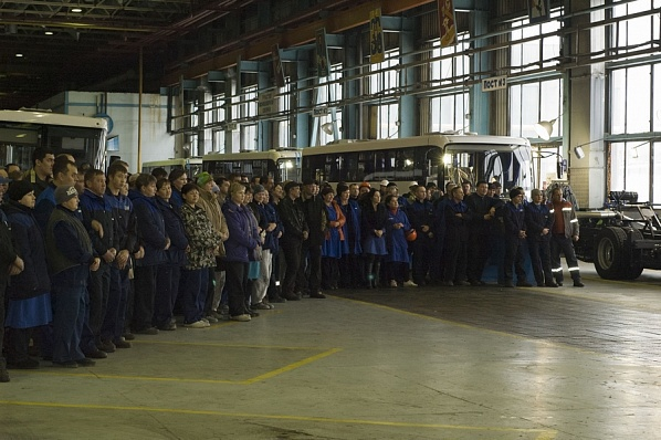 """""""НефАЗ"""" перешел на производство пассажирских автобусов по полному циклу"""