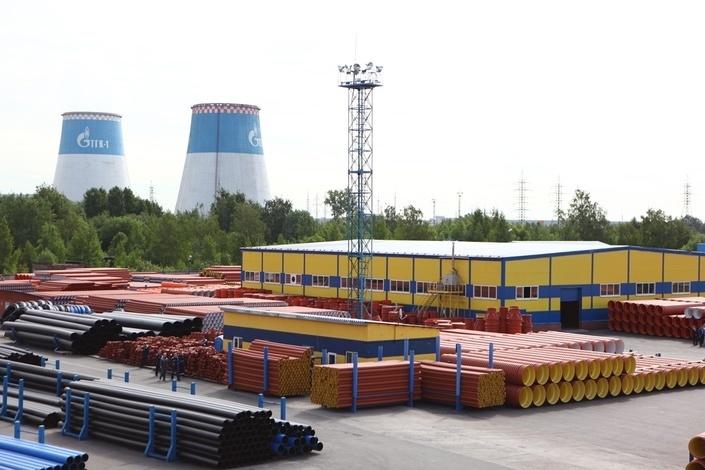 В Санкт-Петербурге запустили линию производства пластиковых изделий большого диаметра