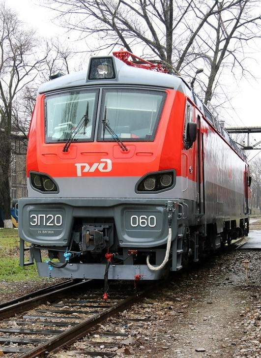 Новочеркасский электровозостроительный завод выполнил годовой заказ по электровозам ЭП20