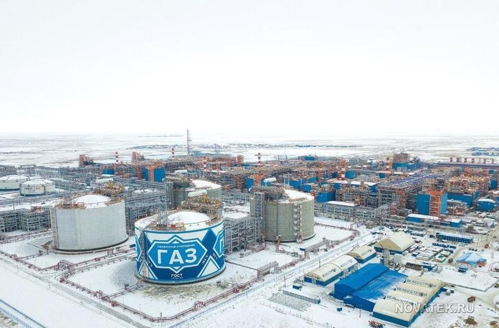 «Ямал СПГ» досрочно вывел завод по сжижению газа на полную мощность