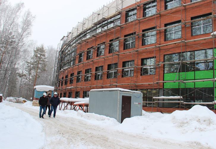 Новосибирск | Новый корпус лицея в Академгородке будет достроен до конца года - БезФормата