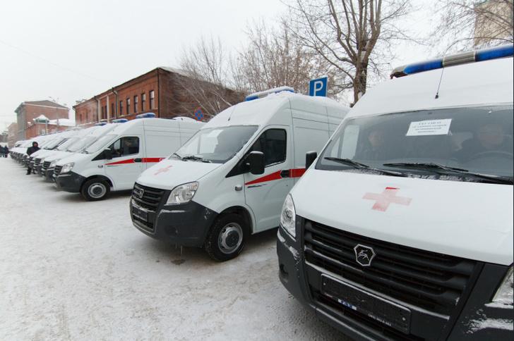 В Новосибирскую область поступили 24 новых автомобиля скорой медицинской помощи
