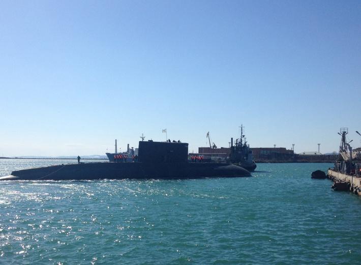Большая дизельная подводная лодка «Комсомольск-на-Амуре» спущена на воду