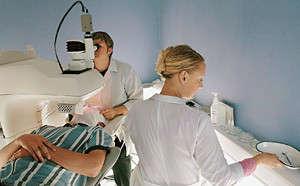 Лечить глаза лазером научились еще в начале 80-х