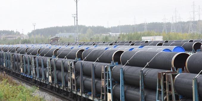 ОМК начала отгрузку труб большого диаметра для морского газопровода «Северный поток – 2»