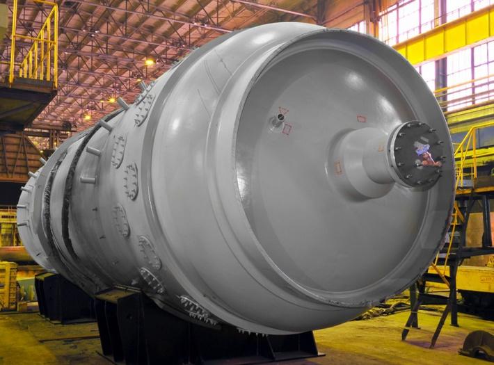 Корпусное оборудование первого контура энергоблока с реактором ВВЭР-1000