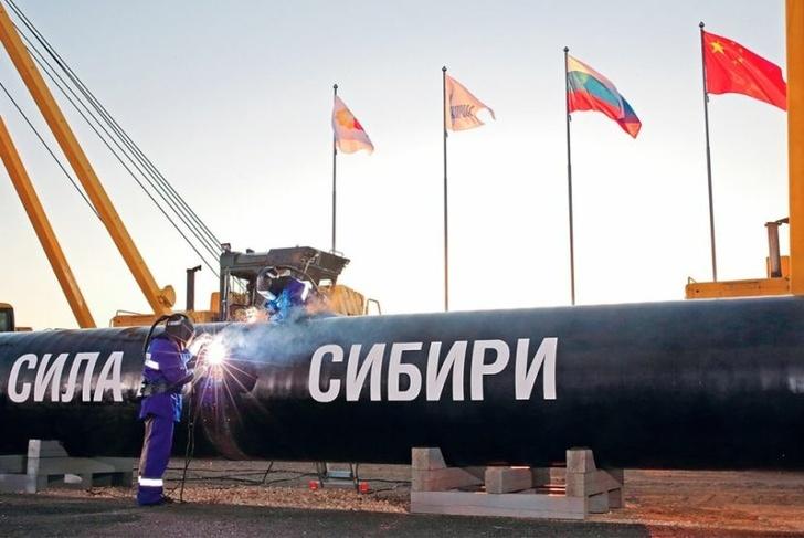 Сила-Сибири. Архивное фото