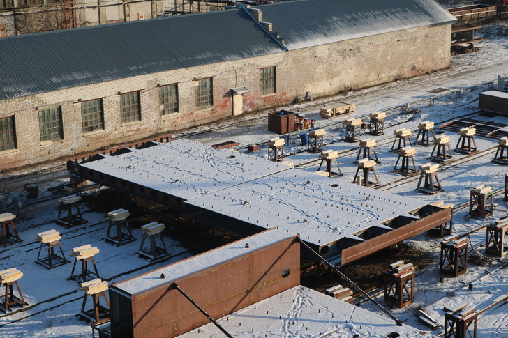 Окская судоверфь заложила киль четвертой баржи для ООО «Пола Райз»