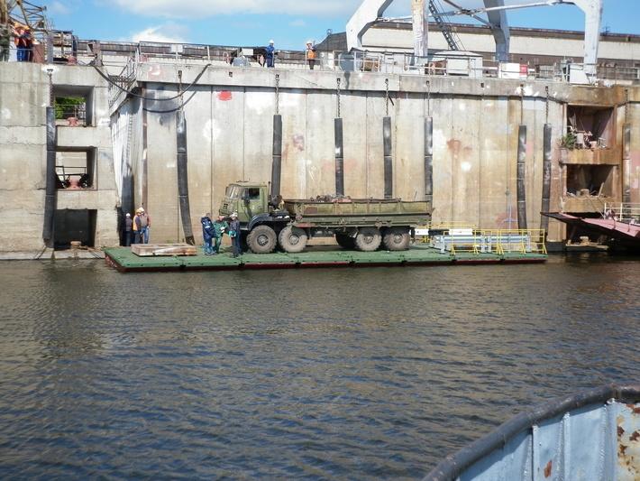 Окская судоверфь построила опытные образцы понтонного комплекса ПТК-2
