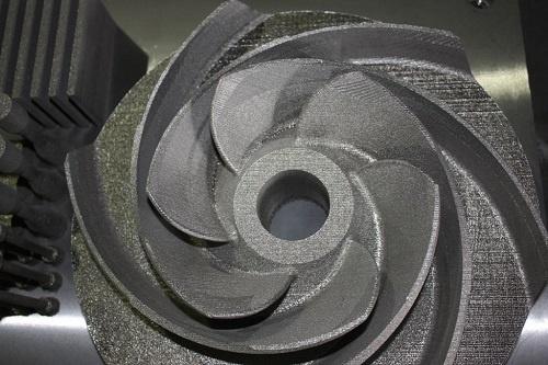 На первом отечественном 3D-принтере по металлу напечатали опытный образец детали