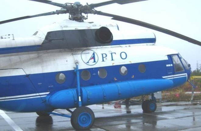 """Авиакомпания """"Арго"""" получила многоцелевой вертолет Ми-8МТВ-1"""