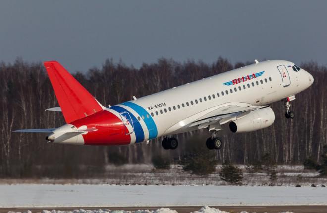 Архивное фото, сделано в аэропорту Раменское в феврале 2015 года