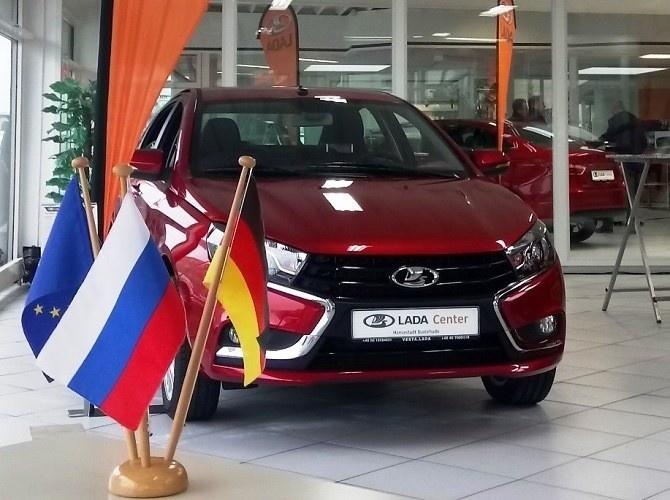 Продажи автомобилей LADA в Евросоюзе в I квартале выросли на 63%