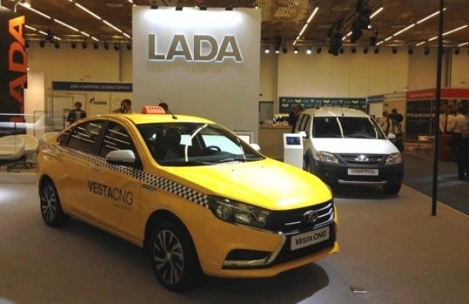 LADA Vesta CNG пройдет испытания в московском такси