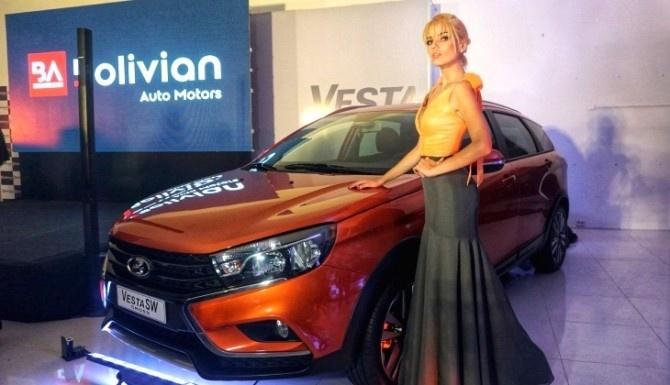 LADA Vesta вышла на рынок Южной Америки