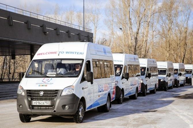 ГАЗ поставил 73 микроавтобуса «ГАЗель Next» для обслуживания XXIX Всемирной зимней универсиады