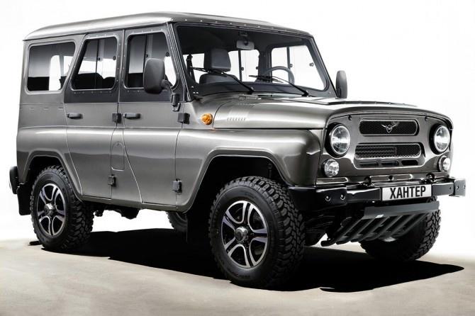 УАЗ «Хантер» выходит на рынок Чили