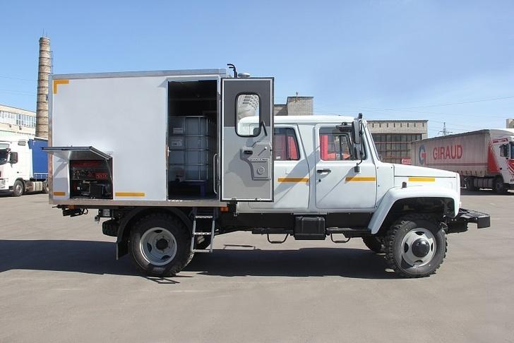 Каналопромывочная машина ГАЗ 33086