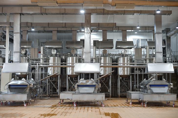 Модернизация молочного завода «Тамбовский» в Адыгее