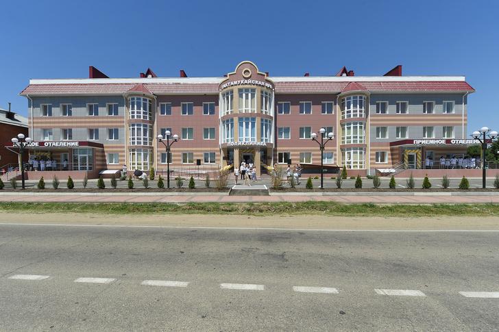 Новая поликлиника открыта в Адыгее