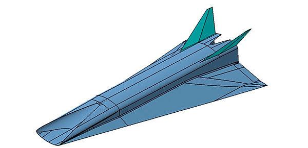 Модель HEXAFLY-INT Фото пресс-службы ЦАГИ