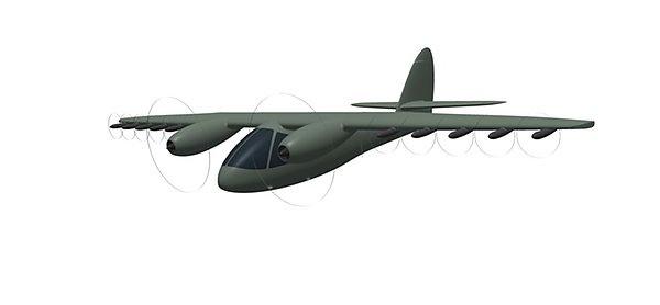 Демонстратор летательных аппаратов вертикального или сверхкороткого взлета и посадки (ССКВП)