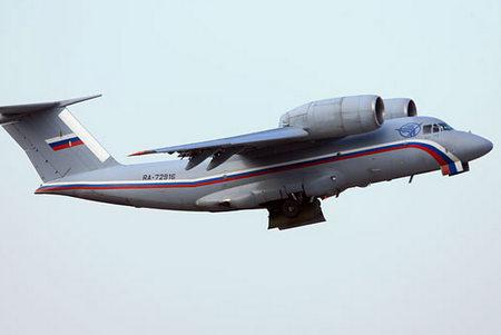 Ан-72 Минобороны РФ. Фото с сайта structure.mil.ru