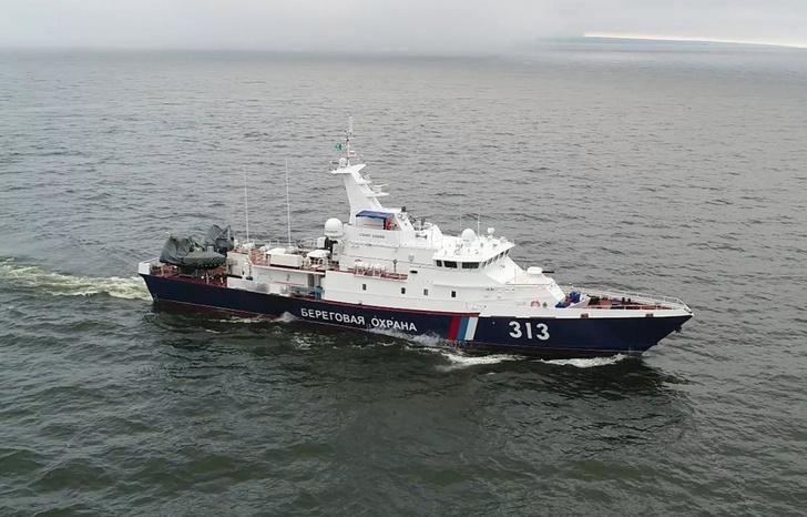 Проект 10410 Пограничный сторожевой корабль