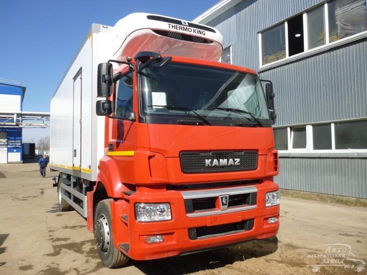 Автомеханический завод представил фургон на базе шасси КАМАЗ 5325