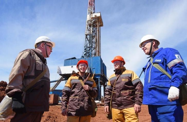 одна из скважин Газпромнефть-Оренбург на Царичанском+Филатовском месторождении