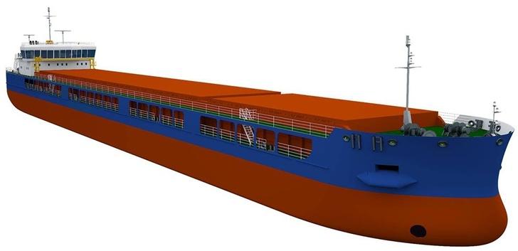 Cухогрузное судно проект RSD59