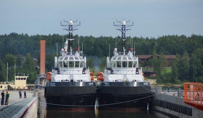 Новейшие спасательные буксиры, построенные для Балтфлота, приступили к госиспытаниям