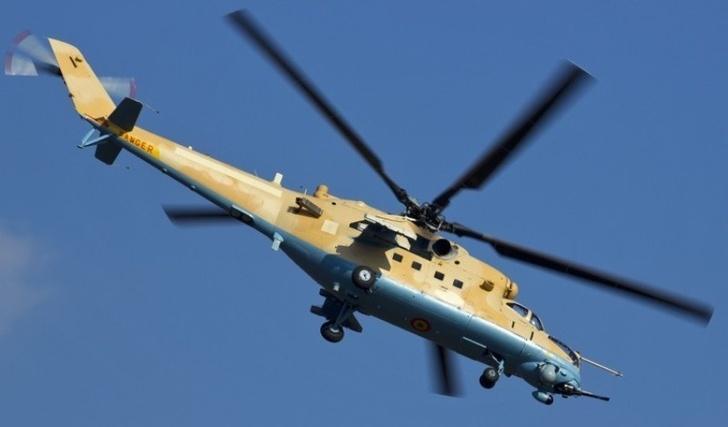 Россия поставила Мали два ударных вертолета Ми-35М