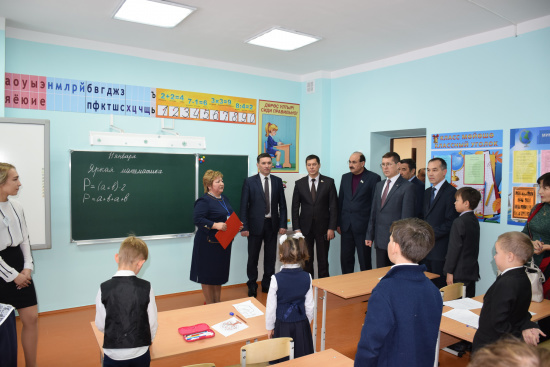 В Кугарчинском районе Башкирии открыли школу и детский сад