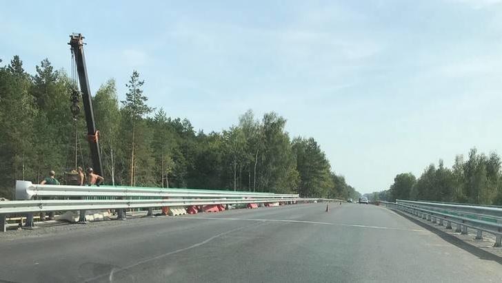 На въезде в Брянск завершили реконструкцию моста