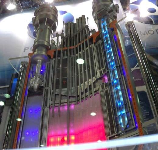 Макет реактора СВБР-100