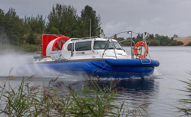 Пермские спасатели получили новый катер на воздушной подушке