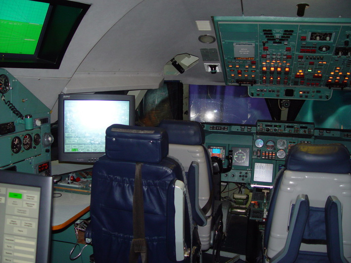 Кабина КТС Ил-96-300
