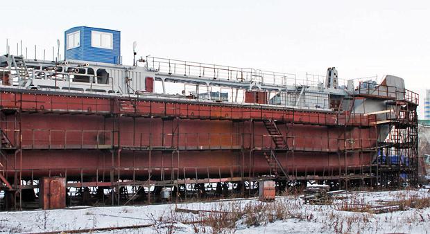От старейшей верфи России – новый танкер «Владимир Матвеев»