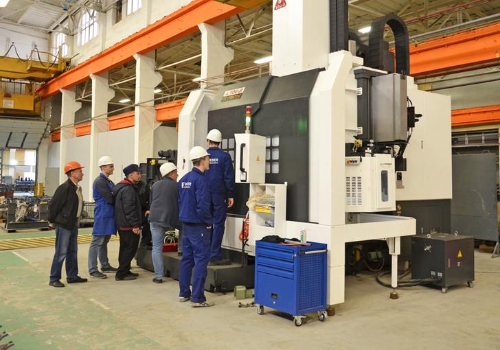 Демиховский машиностроительный завод ввел в эксплуатацию новые станки