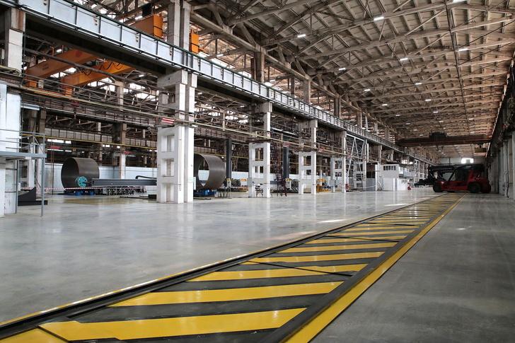 Завод по производству башен ветроустановок открыли в Таганроге