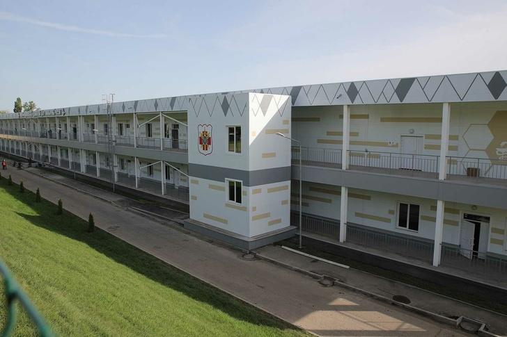 Новый госпиталь в Ростове-на-Дону