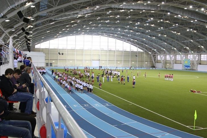 Крытый футбольно-легкоатлетический манеж открыт в Мордовии
