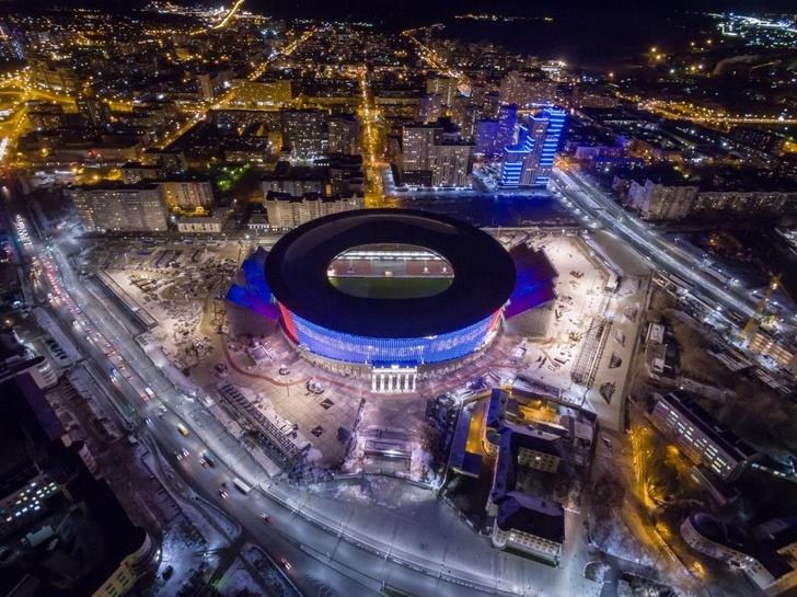 Завершены основные строительные работы на стадионе